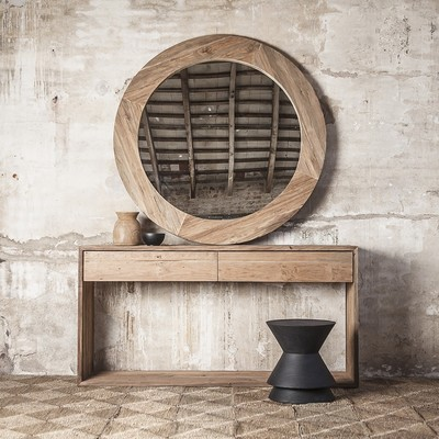 Natural reclaimed teak furniture - a sustainable touch in every space. Visit our website - dareels.com. Link in bio.  Muebles de teca reciclada natural - un toque sostenible en cada espacio. Visita nuestra web - dareels.com. Link en la bio.  #dareels #dareelsdesign #sustainability #sustainablefurniture #reclaimedteak #slowdesign #naturalhomes