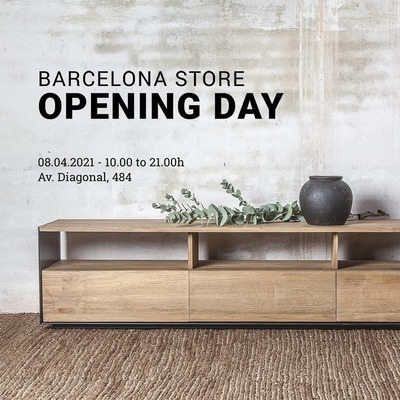 Dareels Store📍 Come to visit us! See you in Av. Diagonal, 484.  Opening day: Thursday 8th April Opening hours: monday to saturday, 10.00 - 21.00h  Fecha de apertura: jueves, 8 de abril Horario: lunes a sábado, 10.00 - 21.00h  #barcelona #barcelonastore #opening #dareels #sustainablefurniture